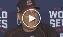 Reporter to Terry Francona: 'Would You Call This a Must-Win Game?' (Video)