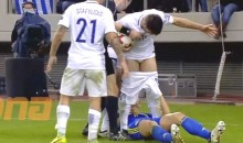 Edin Dzeko Gets Ejected for Pulling Opponent's Pants Down (Video)