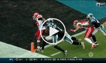 Eric Berry's 42-Yard INT of Cam Newton For a TD is a Thing of Beauty (Video)