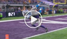 Golden Tate Flips Into End Zone For Game Winning TD (Video)