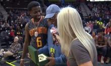 Fan at Atlanta Hawks Game Wins Rolex From Rapper Gucci Mane (Video)