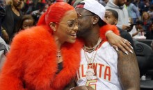 Gucci Mane Proposed to His Girlfriend on the Atlanta Hawks Kiss Cam, Gave Her a 25-Carat Ring (Video)