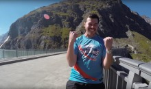 Guess How Many Tries It Took This Guy to Sink a World Record 593-Foot Basketball Shot? (Video)