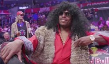 Paul Pierce Chills on the Clippers Bench Dressed as Rick James, B*tch (Videos)