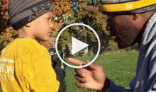 James Harrison to His Son: 'If You Don't Win, Don't Come Home' (Video)