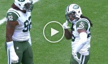 Jets' Calvin Pryor Earned a Taunting Flag for Brushing His Jersey Off (Video)