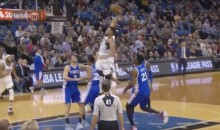 Watch Karl-Anthony Towns HUMILIATE Three Different Philadelphia 76ers with Epic Dunk (Video)