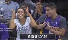 Lakers Fan Gets Spurned by Kings Fan on Kings Kiss Cam (Video)