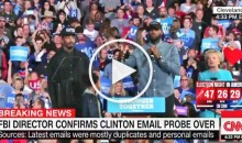 LeBron James & J.R. Smith Introduce Hillary Clinton to Cleveland Crowd (Video)