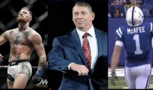 Pat McAfee Executes Perfect Fake Punt, Does Vince McMahon-McGregor Billionaire Strut (Video)