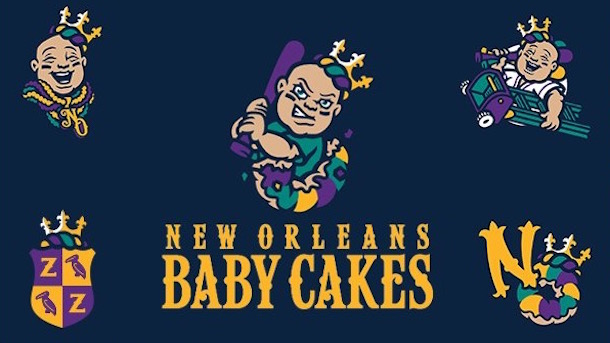 The Baby Cakes are born; New Orleans baseball team officially changes name