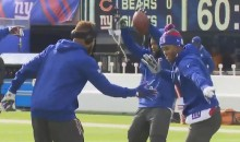 New York Giants Receivers Must Spend a LOT of Time Working on Dance Routines (Videos)