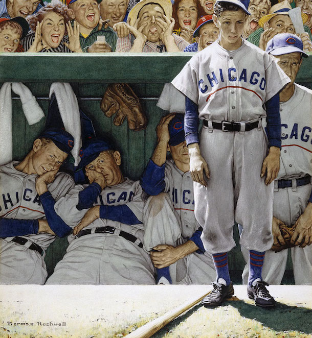 norman-rockwell-the-dugout