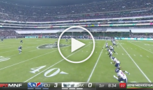 Raiders Fans in Mexico Shout Homophobic Soccer Chant During MNF (Video)