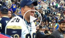 Irate Rams Fan Goes OFF: 'Fire Fisher, Get Him The F*ck Out of Here' (Video)