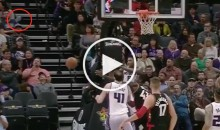 Sacramento Kings' Rudy Gay Throws Shoe in The Stands & Hits Fan in The Face (Video)