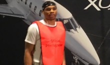 Was Russell Westbrook Trolling Kevin Durant with his Goofy Outfit Before Warriors-Thunder Game? (Videos)