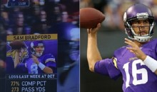 Fox Photoshopped Sam Bradford's Head On Different QB's Body For The Second Time This Year