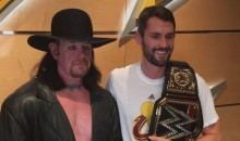 We Now Know Why LeBron Wouldn't Meet with The Undertaker Before the Cavs Season Opener (Pics)