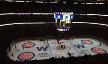 Blackhawks honor Chicago Cubs World Series Win Before Game