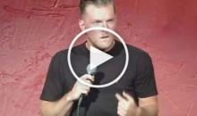 Pat McAfee Has an Epic Stand-Up Bit About Almost Playing Colts QB (Video)
