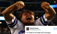 Cowboys Fans Already Want Dak Prescott BENCHED, Call For Romo After Loss to Giants (Tweets)