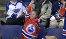 Patrick Maroon Get Emotional Watching His Son's Reaction to His Goal (Video)