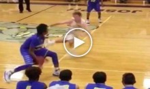Obnoxious Basketball Player Gets Owned Not Once, but Twice, Then Blames His Shoes (Video)