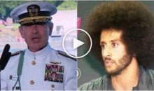 Naval Admiral Takes Shot at Colin Kaepernick For Kneeling During National Anthem (Video)