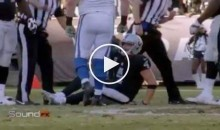 Derek Carr Was Mic'd Up When He Broke His Leg (Video)