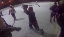 Russian Hockey Player's Brutal Attack on Ref Captured With GoPro (Video)