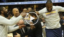 Bucks G Matthew Dellavedova Gets Mobbed By Cavaliers While Receiving Championship Ring (Video)