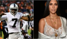Rumors Swirling About Alleged Affair Between Kim Kardashian & Raiders P Marquette King