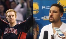 After Spreading Trade Rumor, Klay Thompson Says Scalabrine is Hiding From Him