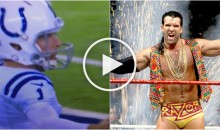 Colts P Pat McAfee Hits The 'Razor Ramon' Bad Guy Dance (Video)
