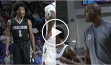 High School B-Ball Player Looks Penny Hardaway in The Eyes & Tells Him His Son is Trash (Video)