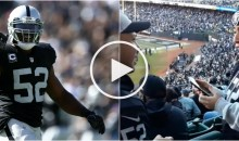 Raiders Fan Proposes to Girlfriend at Stadium With a Special Made Video From Khalil Mack (Video)