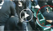 Oakland Raiders Fans Fight Each Other After Carr Injury; One Fan Thrown on His Head (Video)