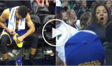 Grown Man Tries to Steal Sneakers Signed By Steph Curry From Little Kid (Video)