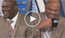 Charles Barkley & 'Inside The NBA' Crew Laugh at Mustache-Having Women in Alabama (Video)