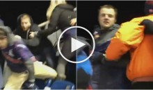 New England Patriots Fans Fight Each Other During MNF Game (Video)