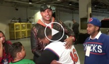 Carmelo Anthony Gifts Car to Young Knicks Fan Battling Cancer (Video)