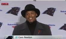 Cam Newton Explains Why He Wasn't Wearing a Tie (Video)
