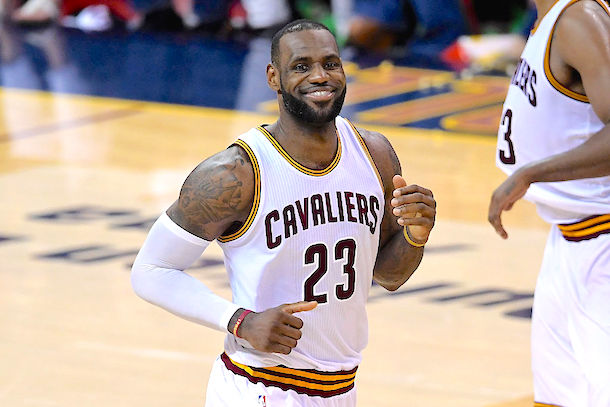Cavs Rest LeBron James