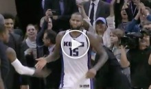 DeMarcus Cousins Scores 54th Point, Spits Mouth Guard Out; Gets Ejected Then Un-ejected (Video)