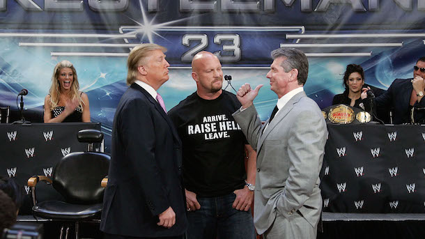 Donald Trump didn't know wrestling isn't real