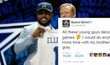 Ezekiel Elliott Blasts College Players Who Skip Bowl Games, Gets Called Out On it