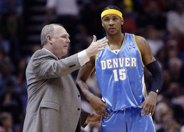 Image result for Carmelo Anthony & JR Smith Respond to George Karl Comments on Their Lack of Father Figures [Video]