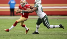 Colin Kaepernick Threw For 4 Yards in 2nd half vs. New York Jets