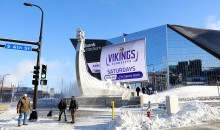 Vikings Open Their Stadium Up to The Homeless on Record-Breaking Cold Night